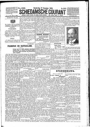 Schiedamsche Courant 1933-12-21