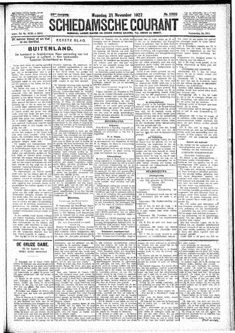 Schiedamsche Courant 1927-11-21