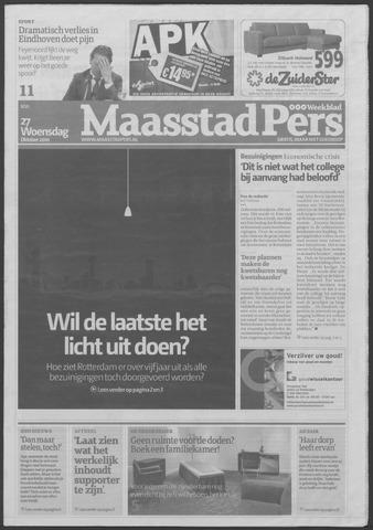 Maaspost / Maasstad / Maasstad Pers 2010-10-27
