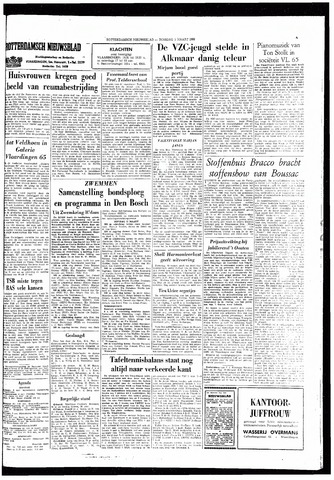 Rotterdamsch Nieuwsblad / Schiedamsche Courant / Rotterdams Dagblad / Waterweg / Algemeen Dagblad 1966-03-01