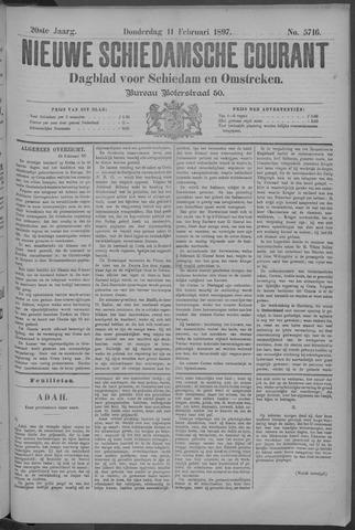 Nieuwe Schiedamsche Courant 1897-02-11