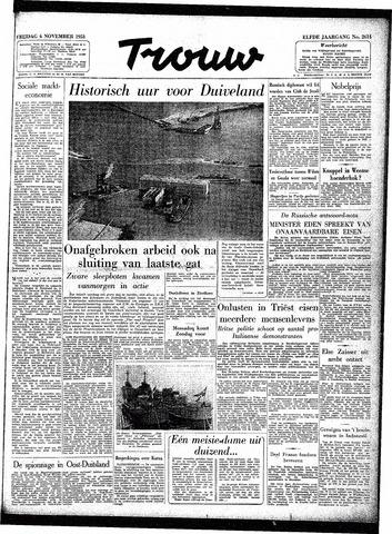Trouw / De Rotterdammer 1953-11-06