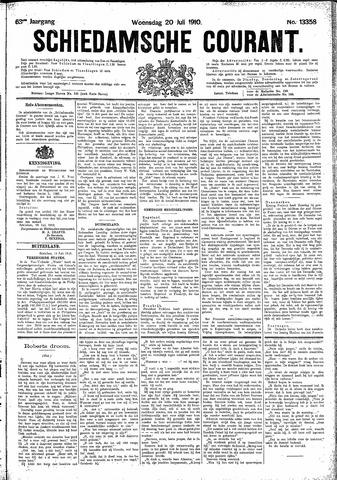 Schiedamsche Courant 1910-07-20