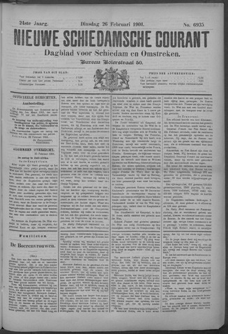 Nieuwe Schiedamsche Courant 1901-02-26