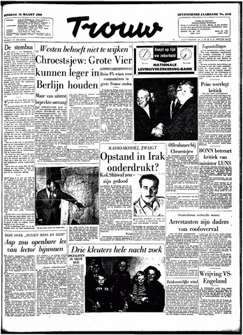 Trouw / De Rotterdammer 1959-03-10