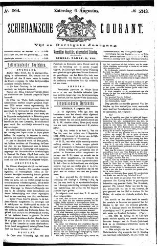 Schiedamsche Courant 1881-08-06