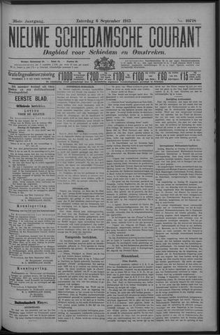 Nieuwe Schiedamsche Courant 1913-09-06