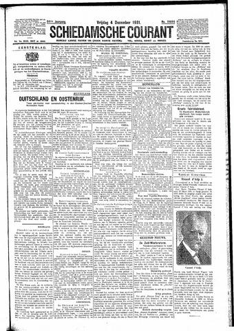 Schiedamsche Courant 1931-12-04