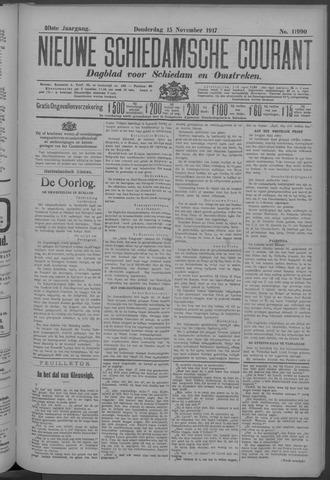Nieuwe Schiedamsche Courant 1917-11-15