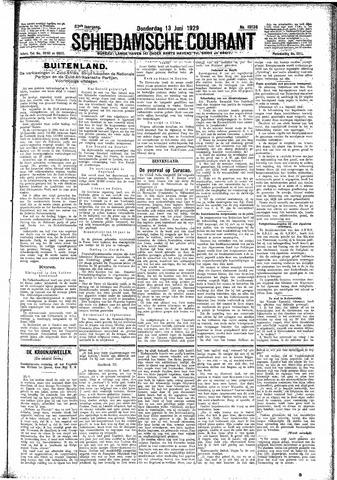 Schiedamsche Courant 1929-06-13