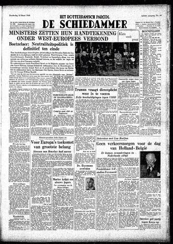 Rotterdamsch Parool / De Schiedammer 1948-03-18
