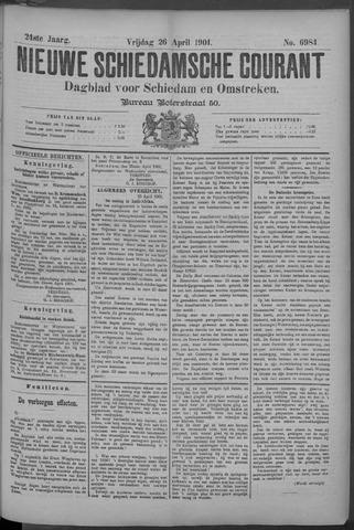 Nieuwe Schiedamsche Courant 1901-04-26