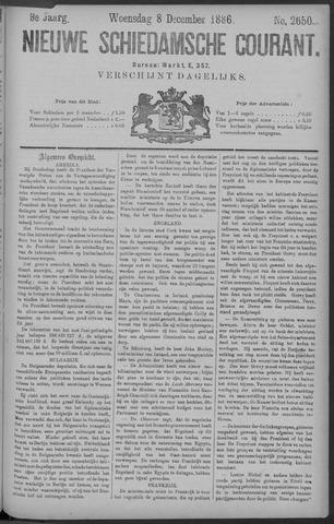 Nieuwe Schiedamsche Courant 1886-12-08
