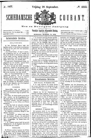 Schiedamsche Courant 1877-09-28