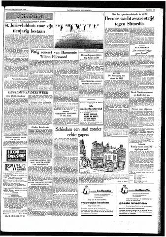Rotterdamsch Nieuwsblad / Schiedamsche Courant / Rotterdams Dagblad / Waterweg / Algemeen Dagblad 1959-02-13