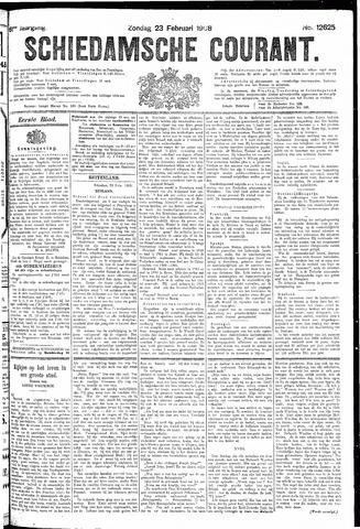 Schiedamsche Courant 1908-02-23