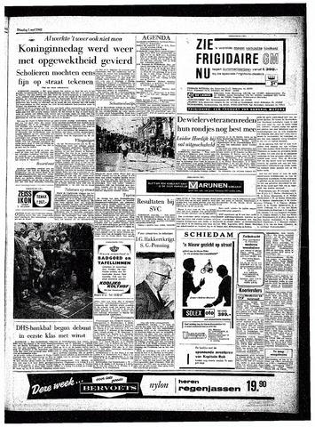 Rotterdamsch Parool / De Schiedammer 1962-05-01