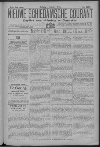 Nieuwe Schiedamsche Courant 1918-10-04