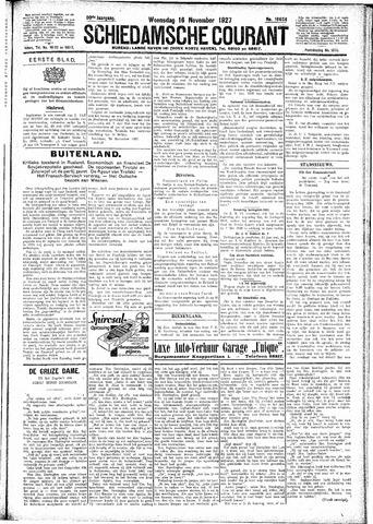 Schiedamsche Courant 1927-11-16