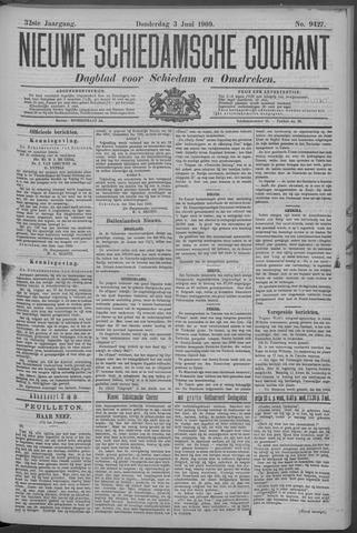 Nieuwe Schiedamsche Courant 1909-06-03