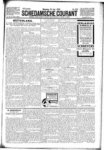 Schiedamsche Courant 1929-06-10