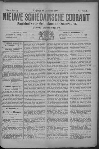 Nieuwe Schiedamsche Courant 1901-01-11