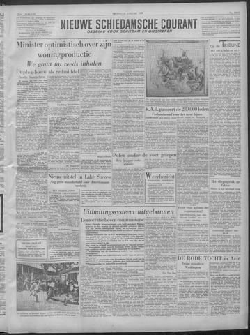 Nieuwe Schiedamsche Courant 1949-01-21