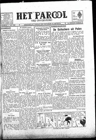 Rotterdamsch Parool / De Schiedammer 1945-07-11