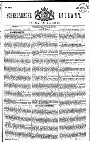 Schiedamsche Courant 1866-11-16