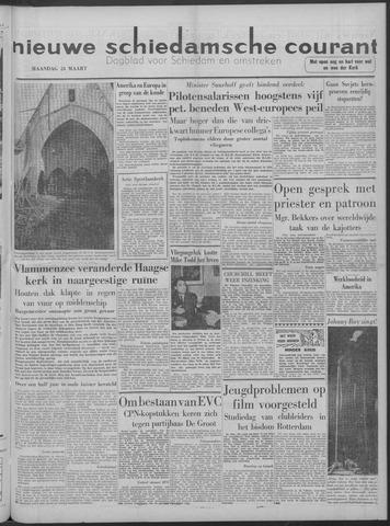 Nieuwe Schiedamsche Courant 1958-03-24