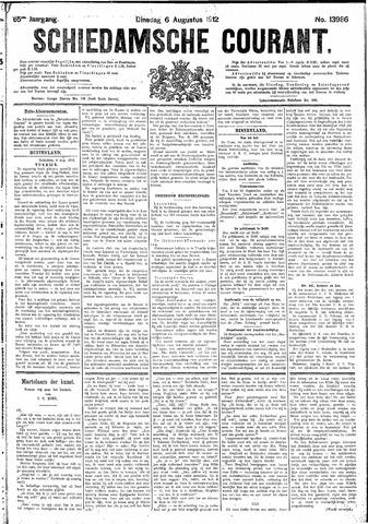Schiedamsche Courant 1912-08-06