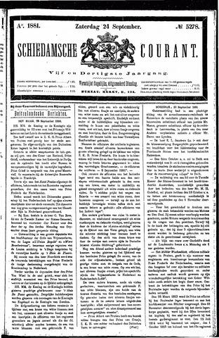 Schiedamsche Courant 1881-09-24