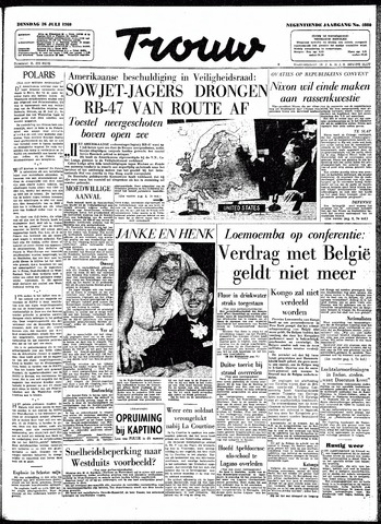 Trouw / De Rotterdammer 1960-07-26
