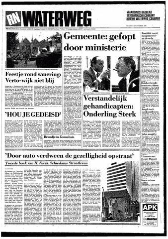 Rotterdamsch Nieuwsblad / Schiedamsche Courant / Rotterdams Dagblad / Waterweg / Algemeen Dagblad 1987-11-02