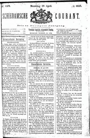 Schiedamsche Courant 1879-04-28