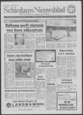 Schiedams Nieuwsblad 1984-10-10