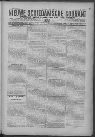Nieuwe Schiedamsche Courant 1925-04-08