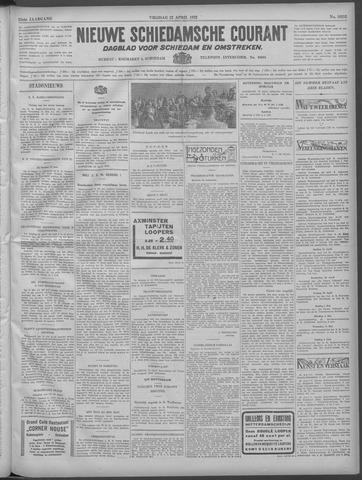 Nieuwe Schiedamsche Courant 1932-04-22