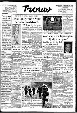 Trouw / De Rotterdammer 1957-01-23