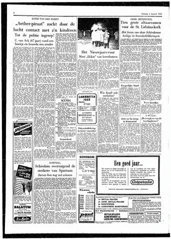 Rotterdamsch Parool / De Schiedammer 1955-01-04