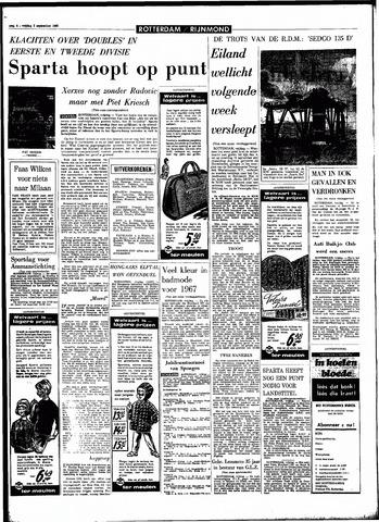 Rotterdamsch Parool / De Schiedammer 1966-09-02
