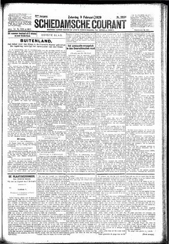 Schiedamsche Courant 1929-02-09