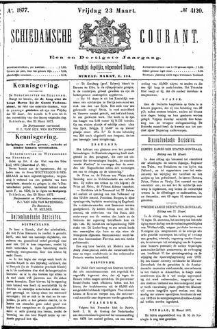 Schiedamsche Courant 1877-03-23
