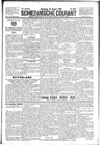 Schiedamsche Courant 1929-01-16