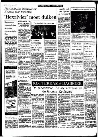 Rotterdamsch Parool / De Schiedammer 1966-08-09