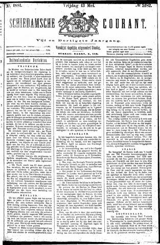Schiedamsche Courant 1881-05-13
