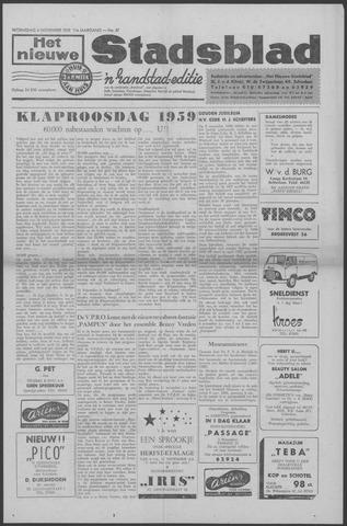 Het Nieuwe Stadsblad 1959-11-04
