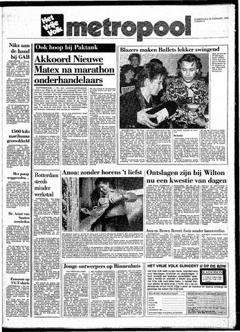 Het Vrije volk 1988-02-25
