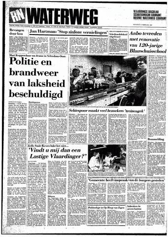 Rotterdamsch Nieuwsblad / Schiedamsche Courant / Rotterdams Dagblad / Waterweg / Algemeen Dagblad 1987-02-02