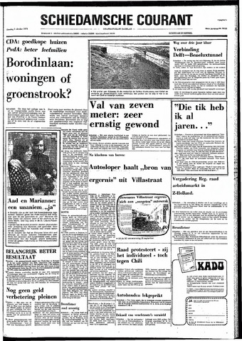 Rotterdamsch Nieuwsblad / Schiedamsche Courant / Rotterdams Dagblad / Waterweg / Algemeen Dagblad 1974-10-01